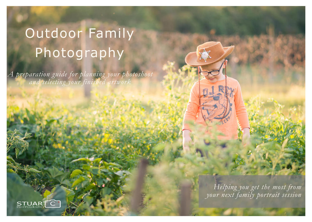 Download the preparation guide to outdoor family portrait photography