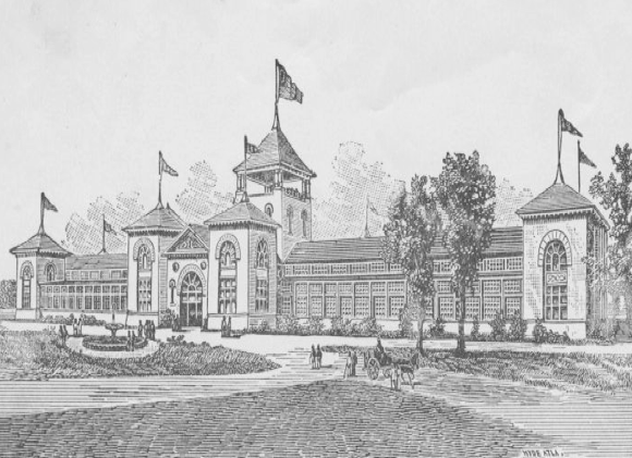 Negro Building at the Cotton States and International Exposition – October 1895