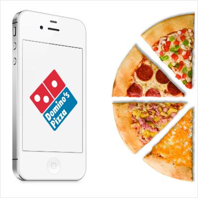 Domino Pizza App |UX , UI