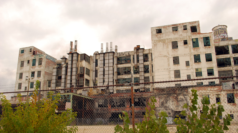 Fisher Body Plant 21, Detroit(Oct 2014)