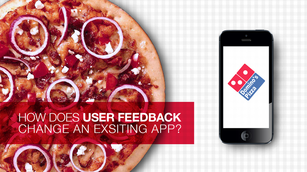Domino Pizza App | UI, UX