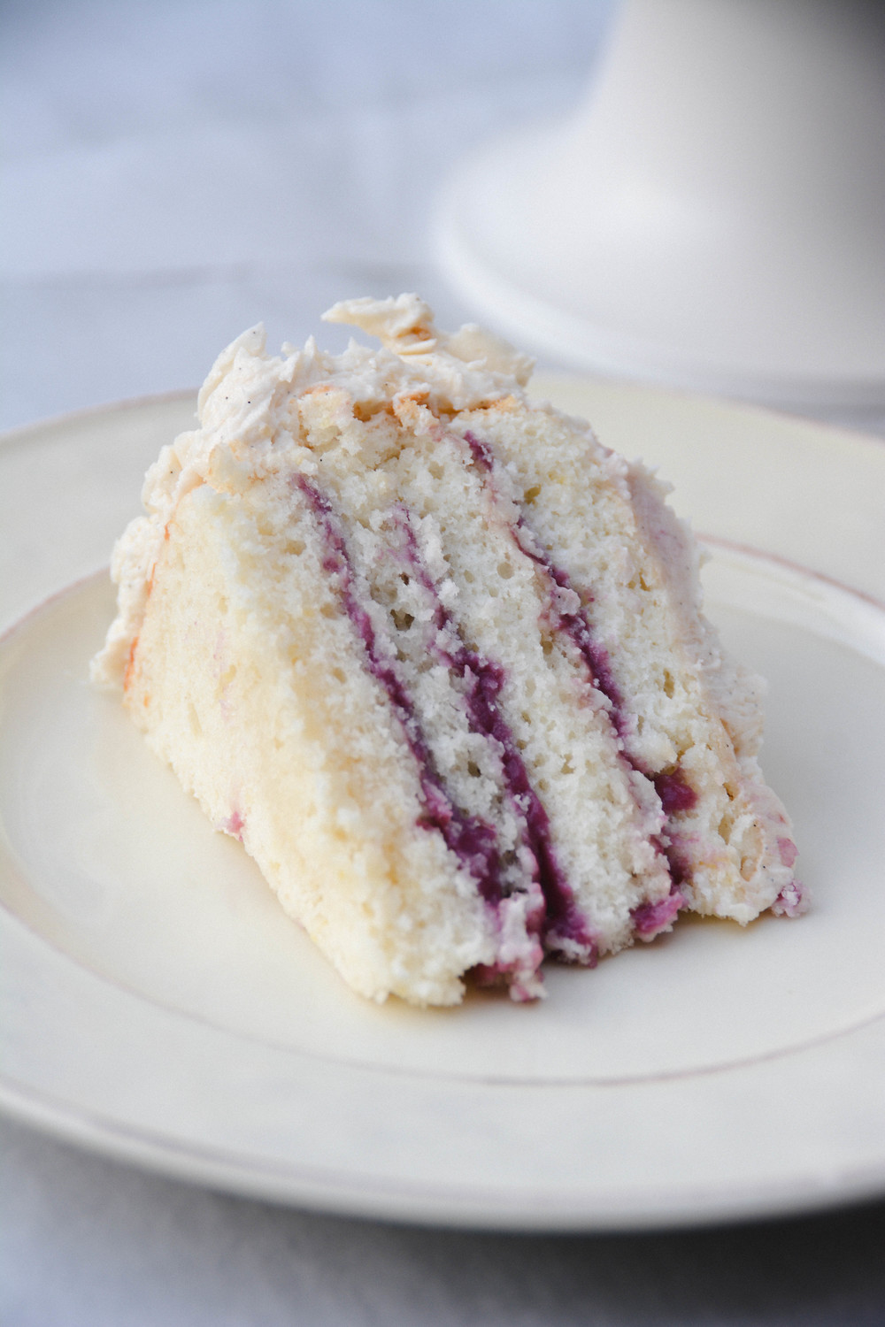 lemon blueberry cake | doughing it right