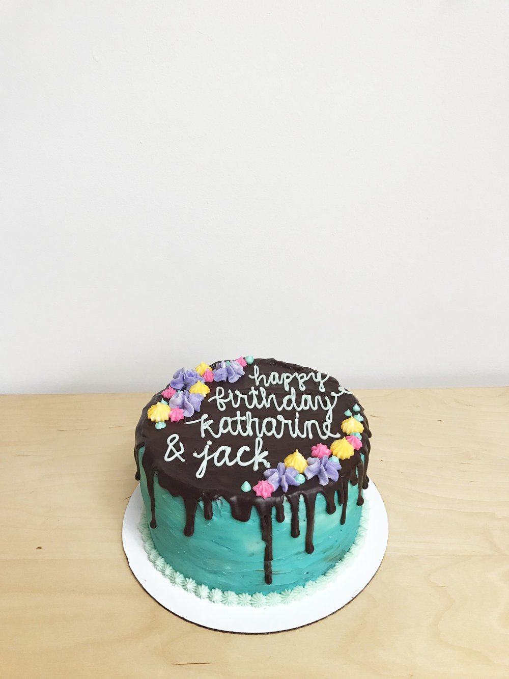 chocolate drip cake | doughing it right