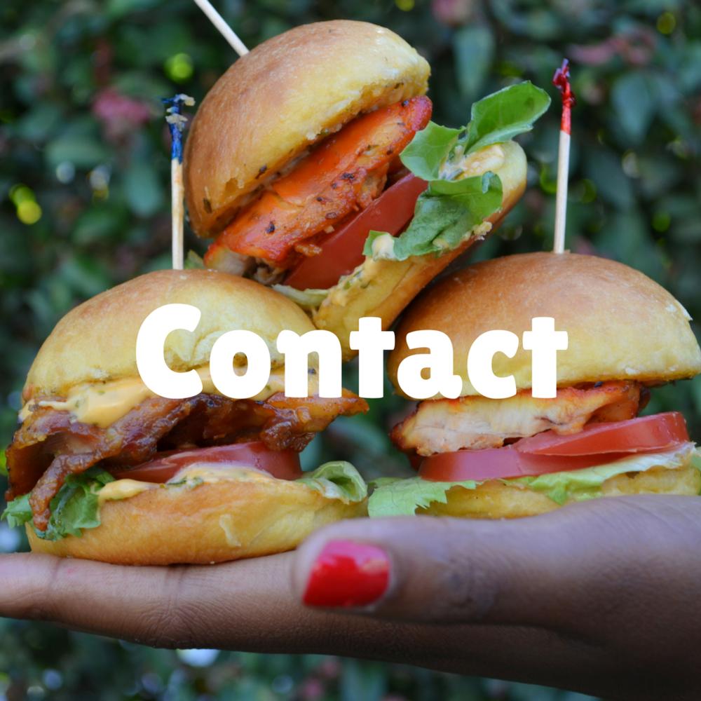 chicken sliders mini burgers contact