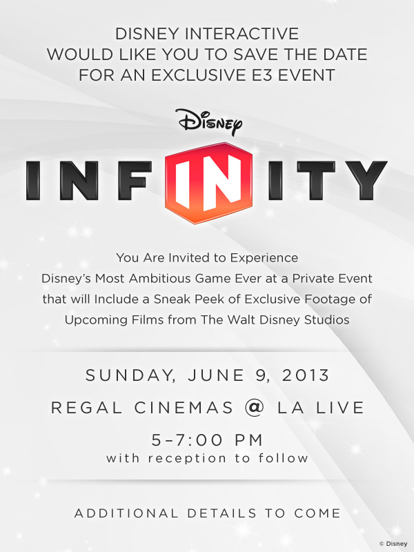 Disney Event Invite Infinity
