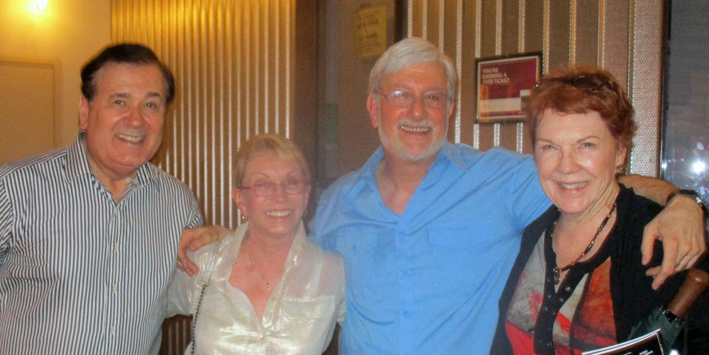 Tony Award nominees Lee Roy Reams (42ND STREET), Sandy Duncan (PETER PAN, THE BOY FRIEND, and CANTERBURY TALES), and Beth Fowler (SWEENEY TODD and THE BOY FROM OZ) visit Josh after a performance.