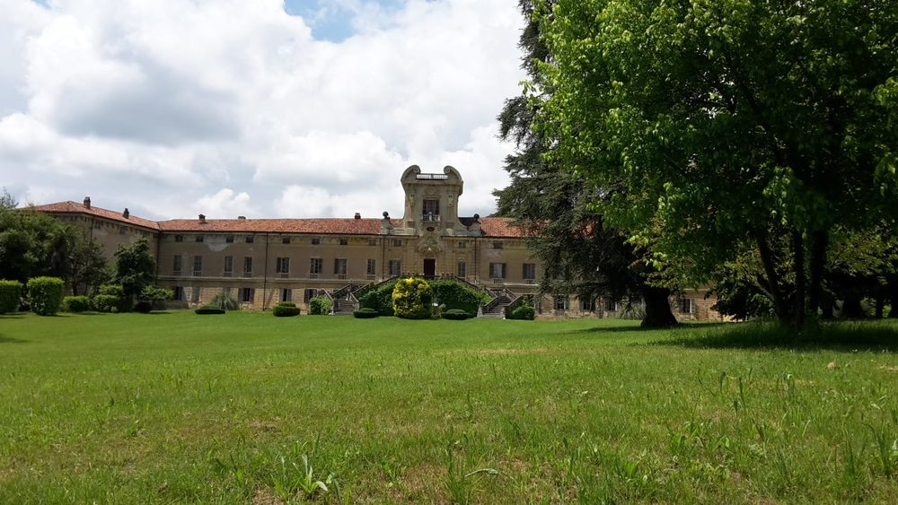 Part of the parc, surrounding the Castello di Rivara Courtesy: Artribune