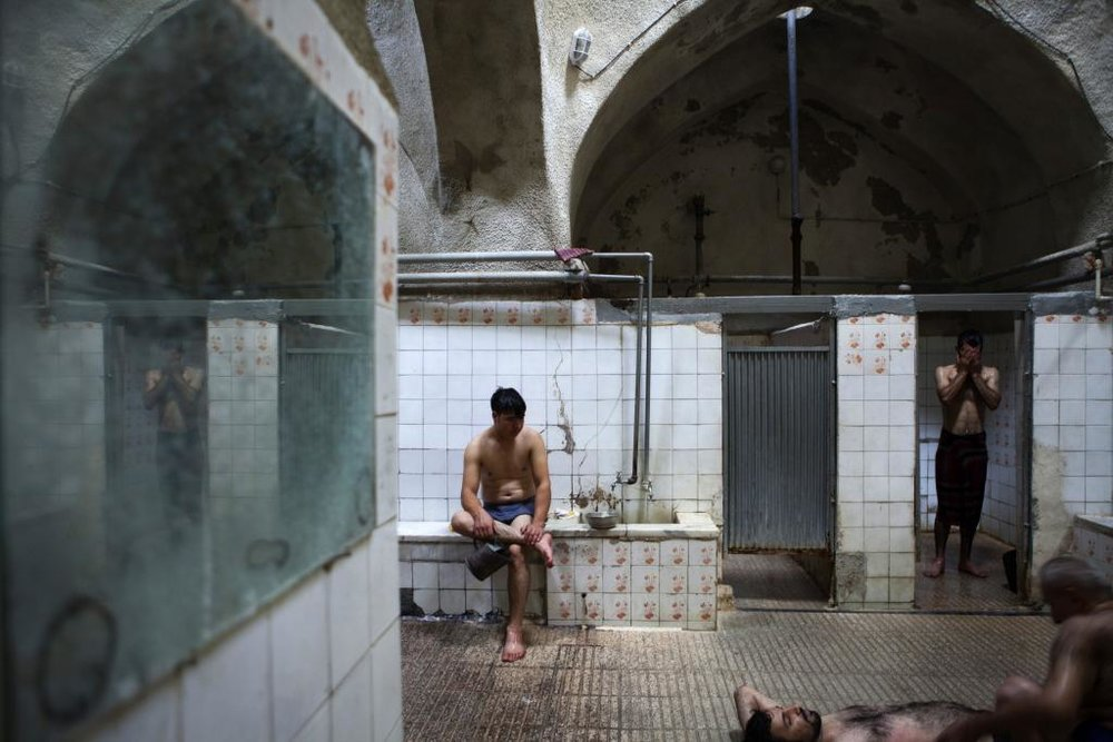 "Abbas Kowsari, from the ""Bath"" series, 2012, Digital Photography, 100 x 150 cm, Edition of 7 + 1AP"