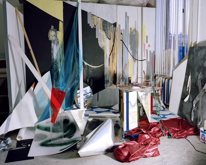 Eén van de foto's van Peggy Frank die zij toonde bij haar eerste solo tentoonstelling in Italië bij KLERKX, Milaan in 2009.