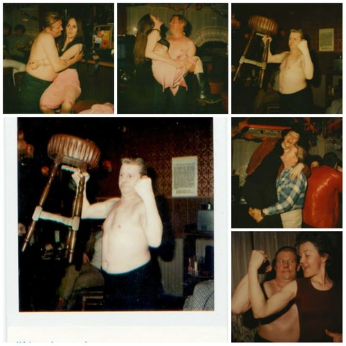 Polaroid Portraits in the bars of Amsterdam, 1979/1980