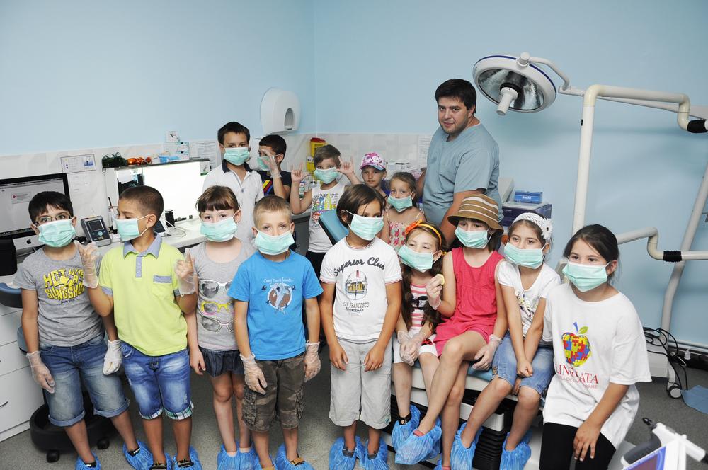 Vizita copii de la scoala Linguata