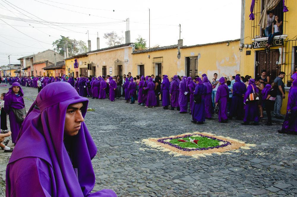 Semana Santa (Easter) - Antigua, Guatemala.