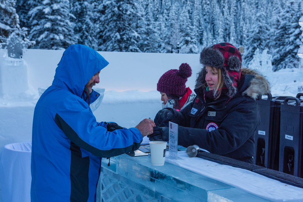 What could be cooler than getting a drink at an ice bar?