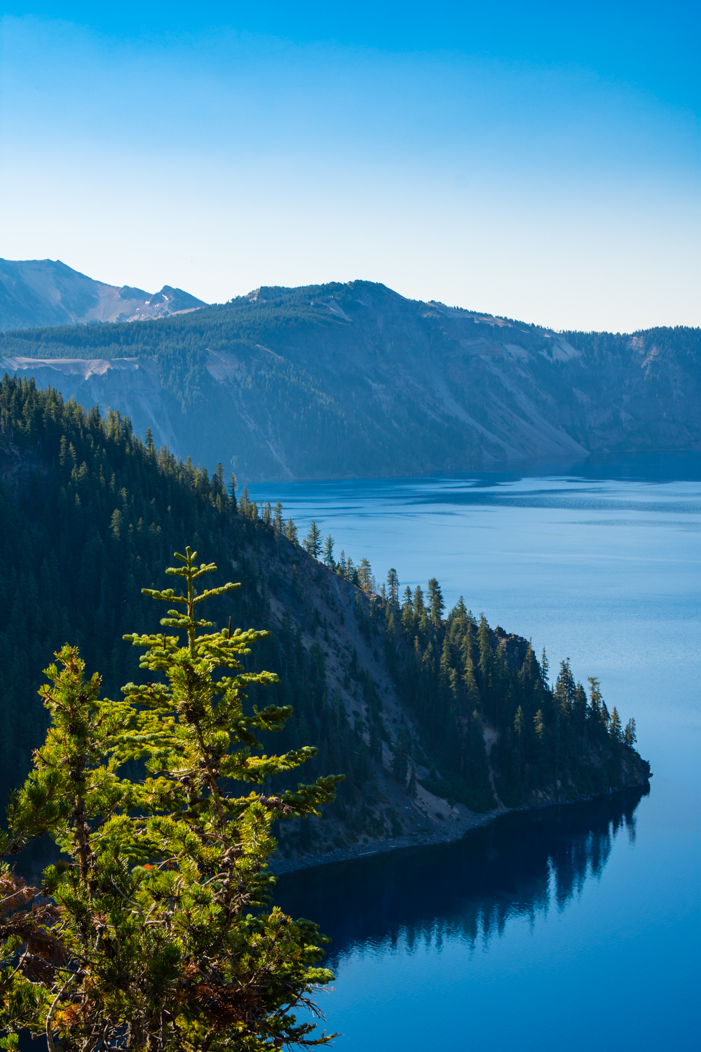 Crater Lake, the deepest lake in the US