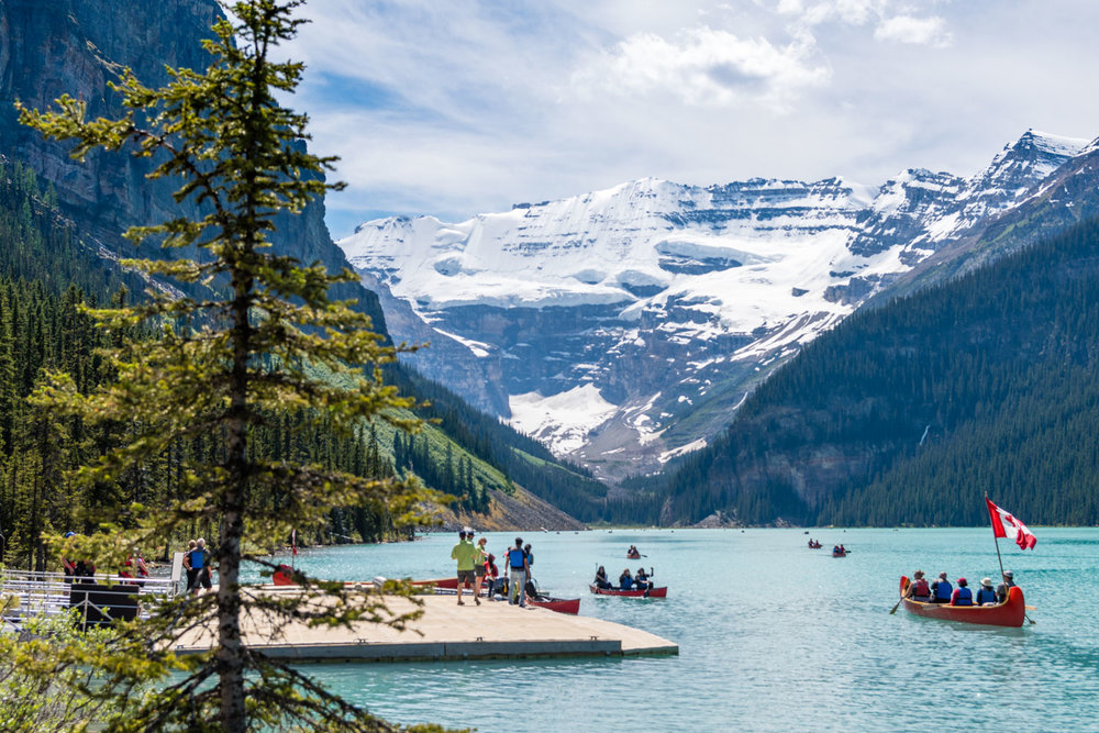 A very Lake Louise day.