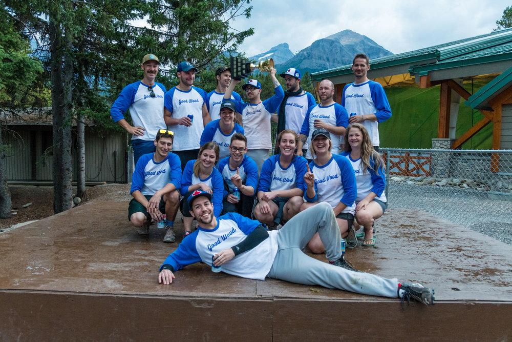 Lake Louise Softball Champions 2017.