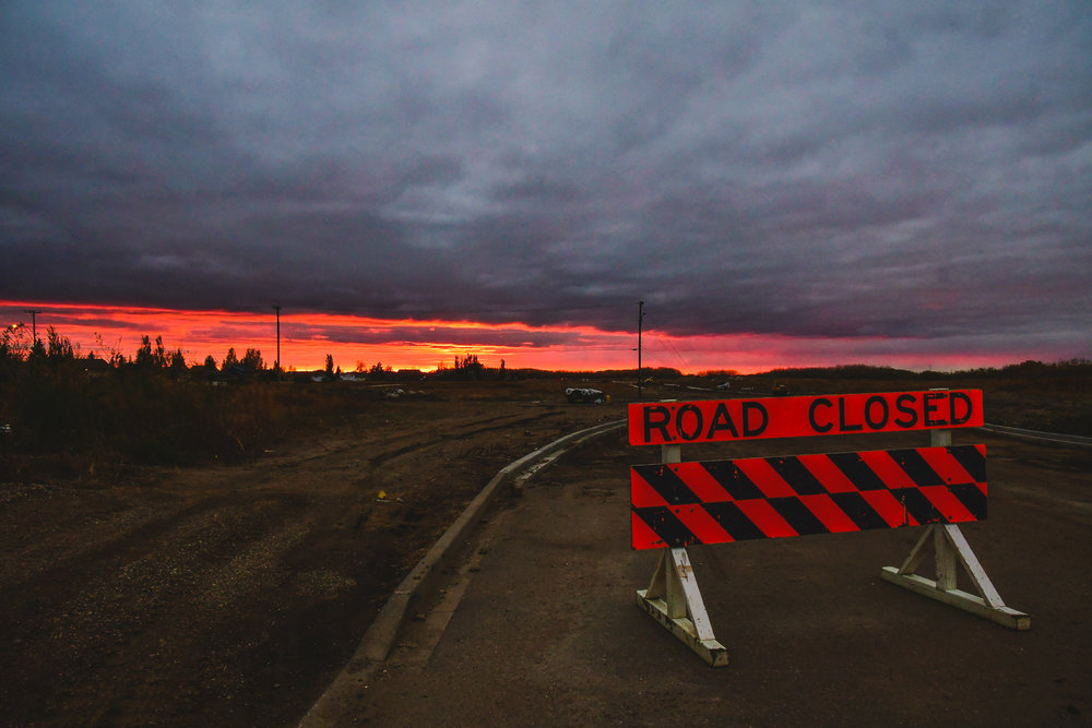 The never ending journey across the prairies.