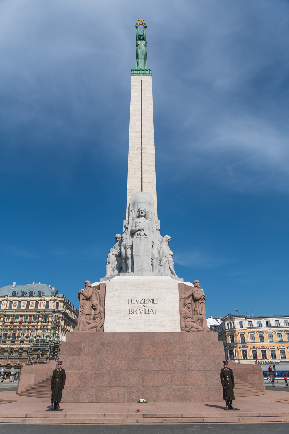 There are many other figures and stories told within the monument's carvings, all of which also had their meanings rewritten to Russian interpretation.