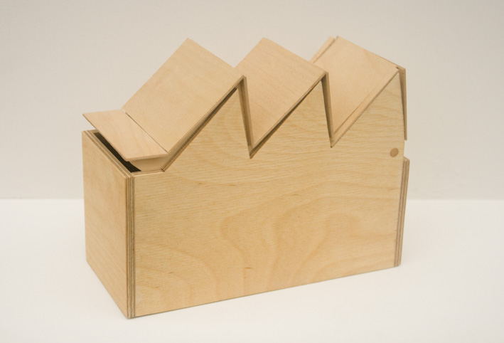 'Box Factories' Sawtooth Box - Hackney Wick and Fish Island