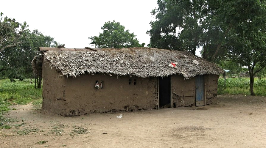 A typical Maasai home