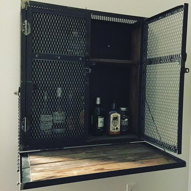 New liquor cabinet is boss