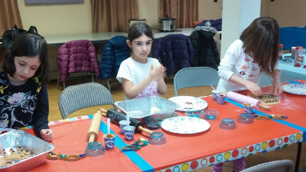 Hamentashen Baking  - Purim 2015