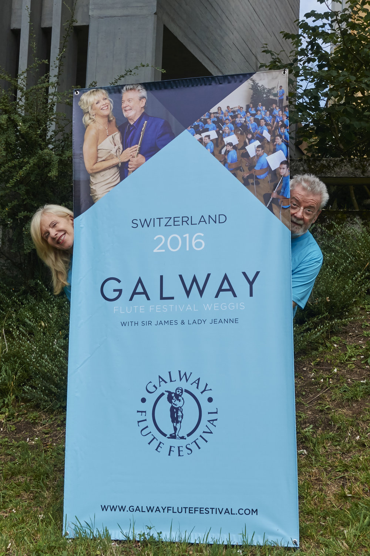 Lady Galway & Sir James Galway
