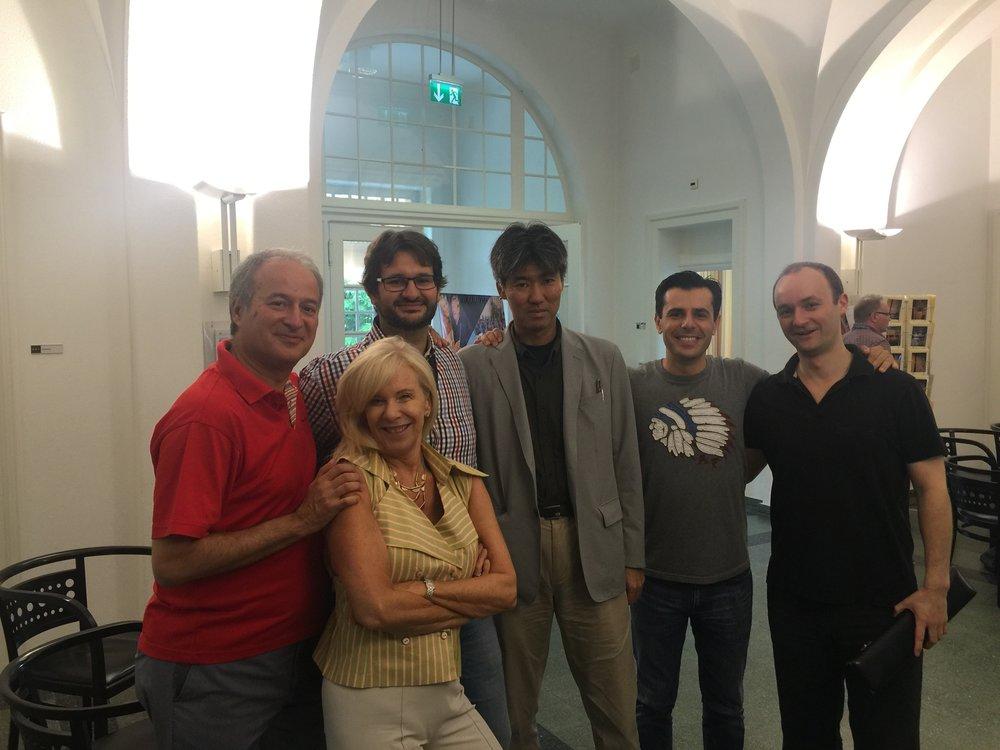 Nicola Mazzanti, Lady Galway, Marcello Daminelli, Muramatsu President Akio Muramatsu, Franceso Loi, Philipp Jundt