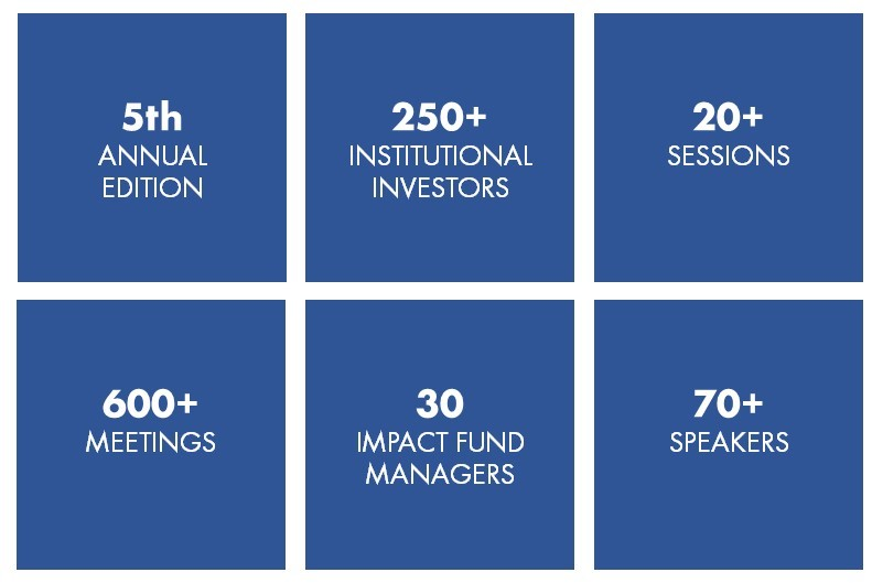 Impact Summit Europe 2019, Impact Investing conference for institutional investors and impact fund managers