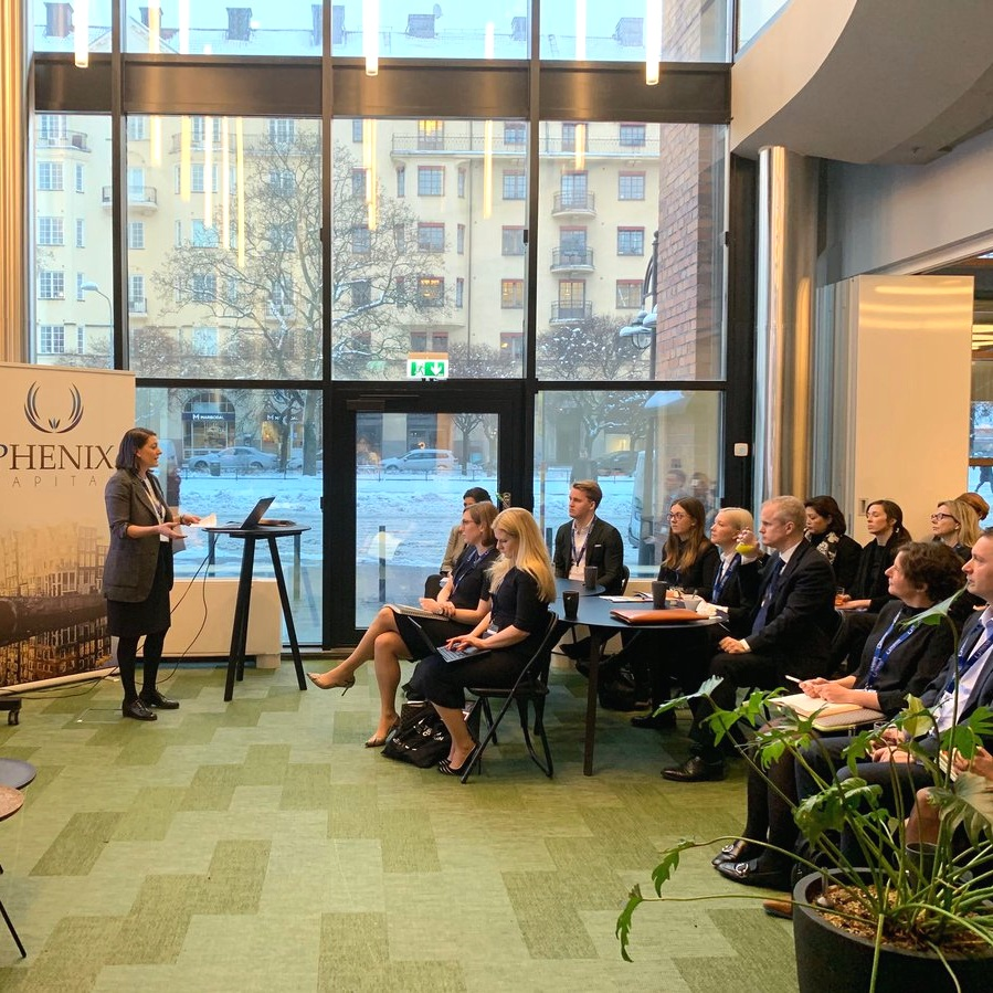 IMPACT SEMINAR SERIES: LISTED EQUITY     5 February 2019 | Stockholm