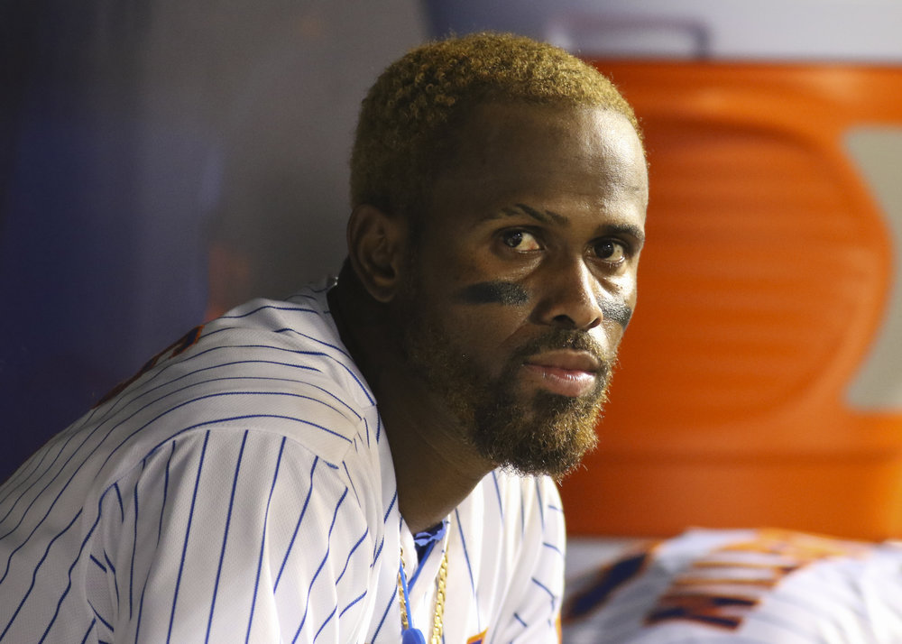 New York Mets infielder Jose Reyes.