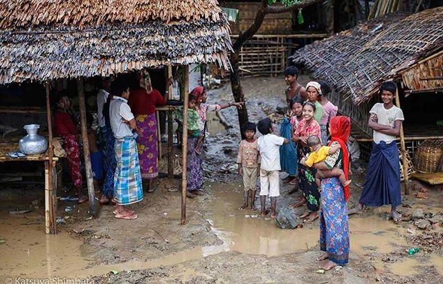 Rohingya community in Mrauk-U, Myanmar.