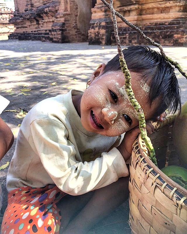 Smile. One in the same.  This is life, purpose, hope. Burma Beauty