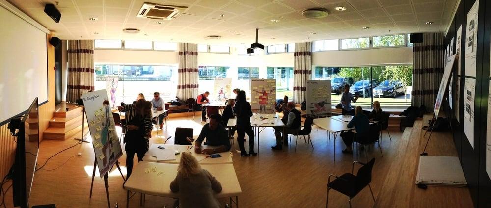 Creative Workshop with KINNARPS in Copenhagen