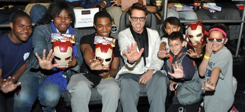 IRONMAN WITH     PAL KIDS