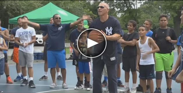 News 12_Yankees Joe Girardi Encourages PAL Youth.JPG