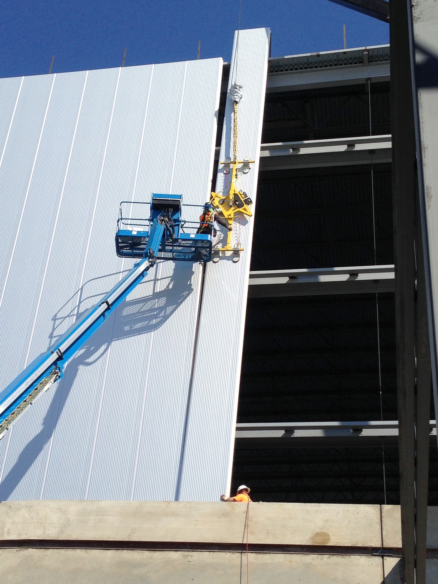 Insulated Metal Panels Cold Storage Construction Degraff