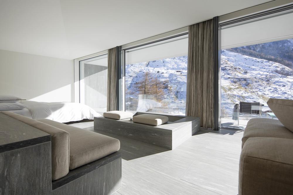 Architecture ingo rasp photography for Design hotel vals