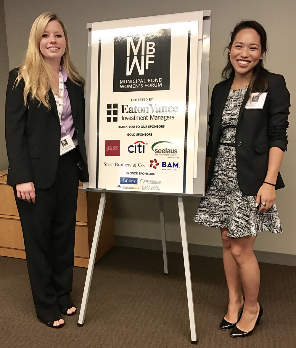 Jennifer Kelly and Sarah Wu from Factset