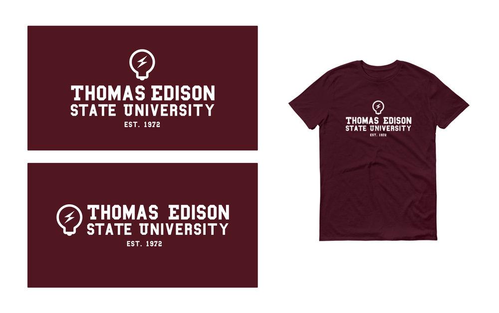 Thomas Edison State University - Logo concept