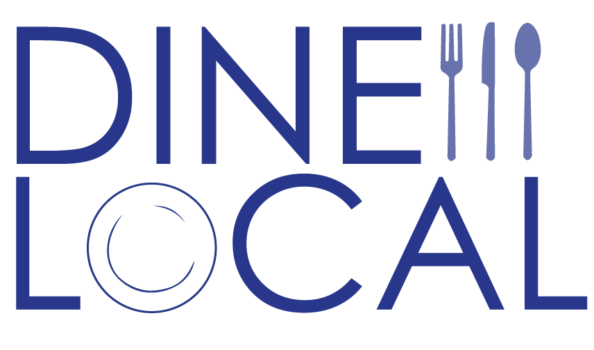 Dine Local Logo + Branding