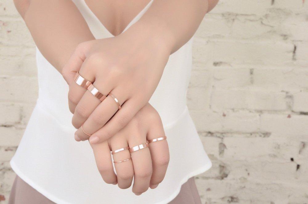 clove and ele fine jewelry designs - Essential Rings - 1 - Rose Gold.jpg