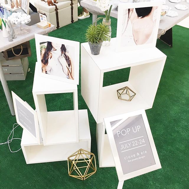 This set up from our #popup @westfieldsantaanita 😻 #shoplocal