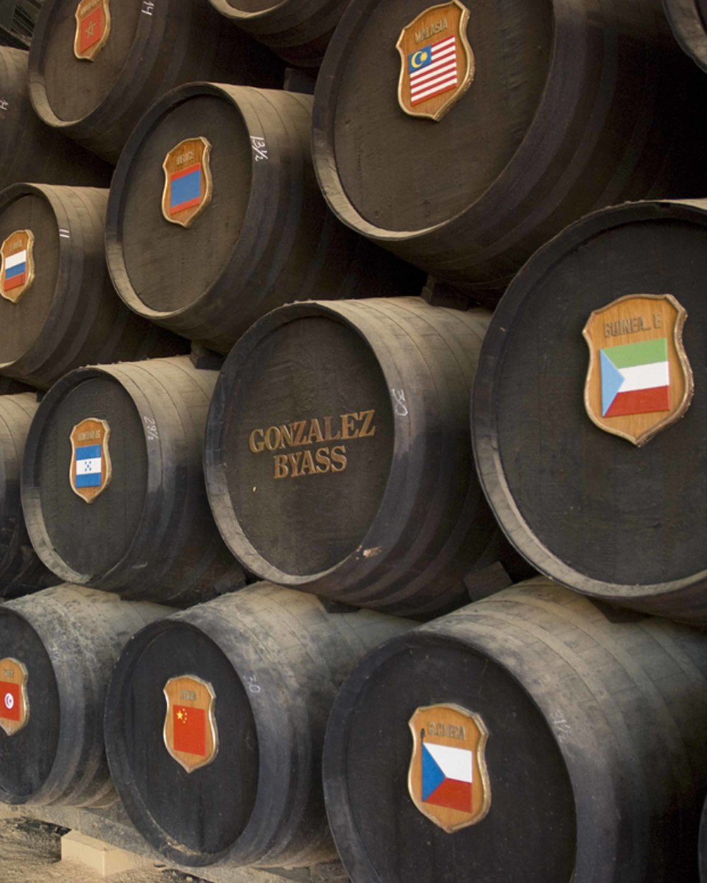 Sherry barrels, Jerzez, Spain