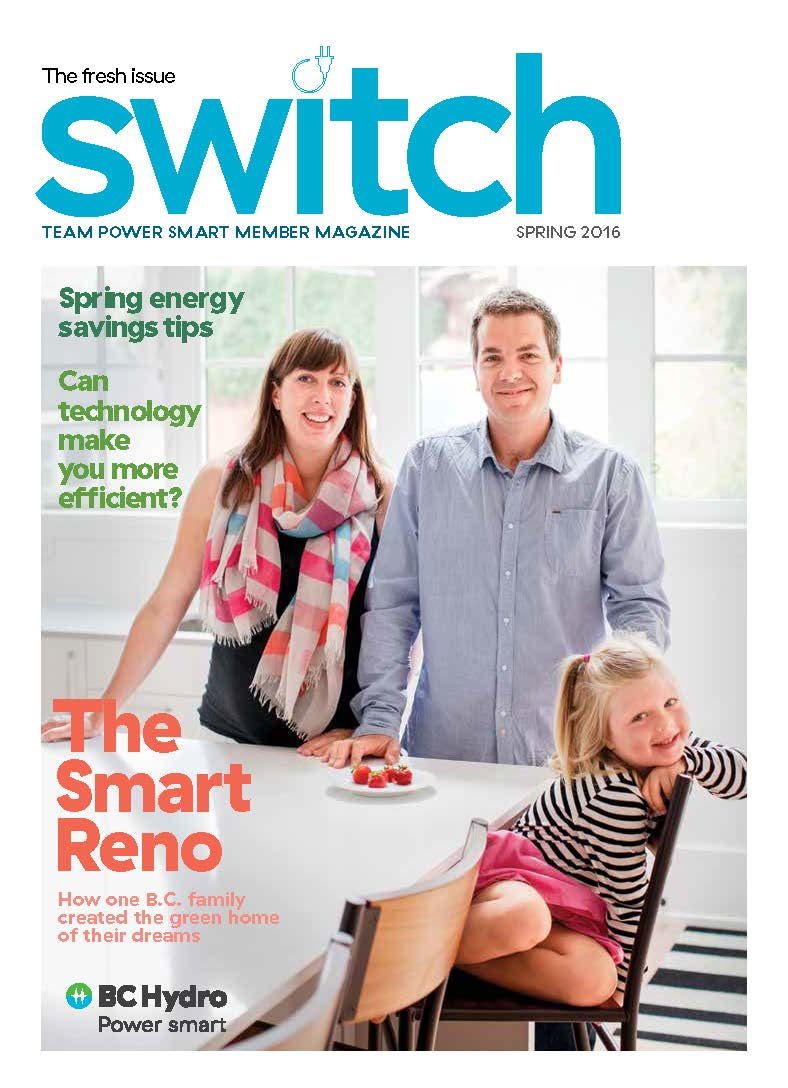 BC Hydro's custom magazine for Team Power Smart members
