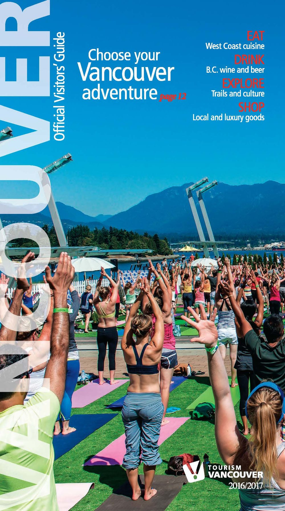 2016/17 Tourism Vancouver  Official Visitors' Guide