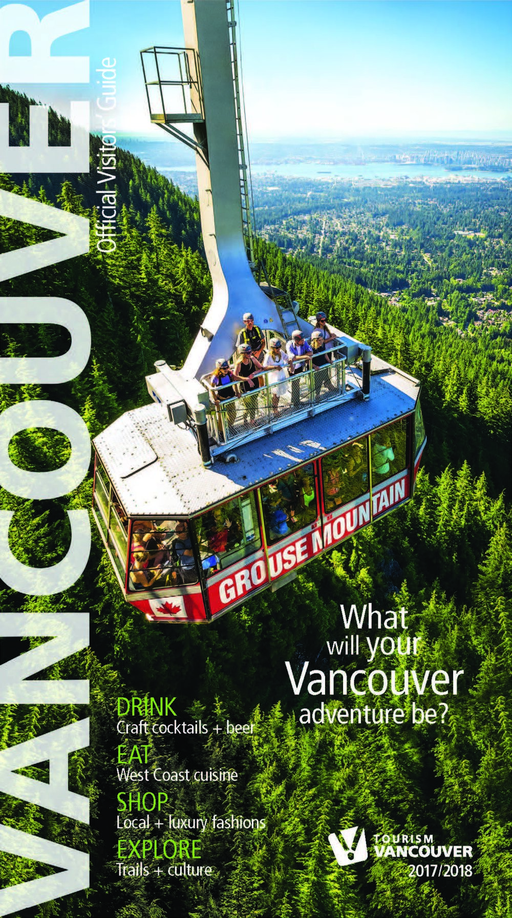 2017/18 Tourism Vancouver  Official Visitors' Guide