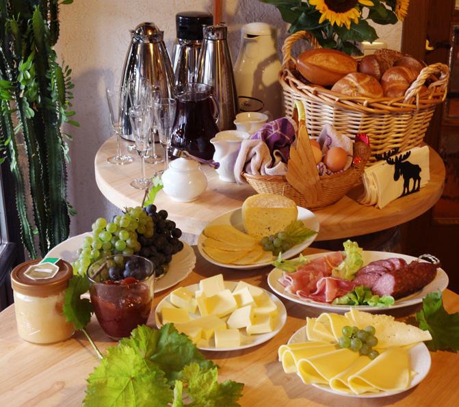 Mit unserem Frische- Frühstück, kann Ihr Urlaubstag beginnen! -