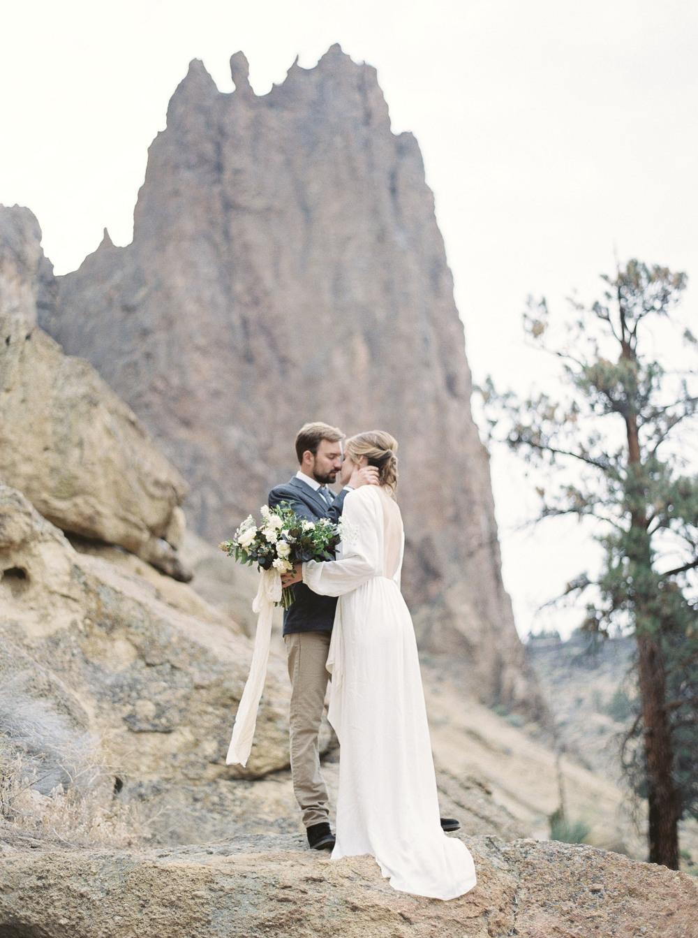 Smith Rock Elopement Bend Oregon Amanda Lenhardt Photography Fine Art Photographer