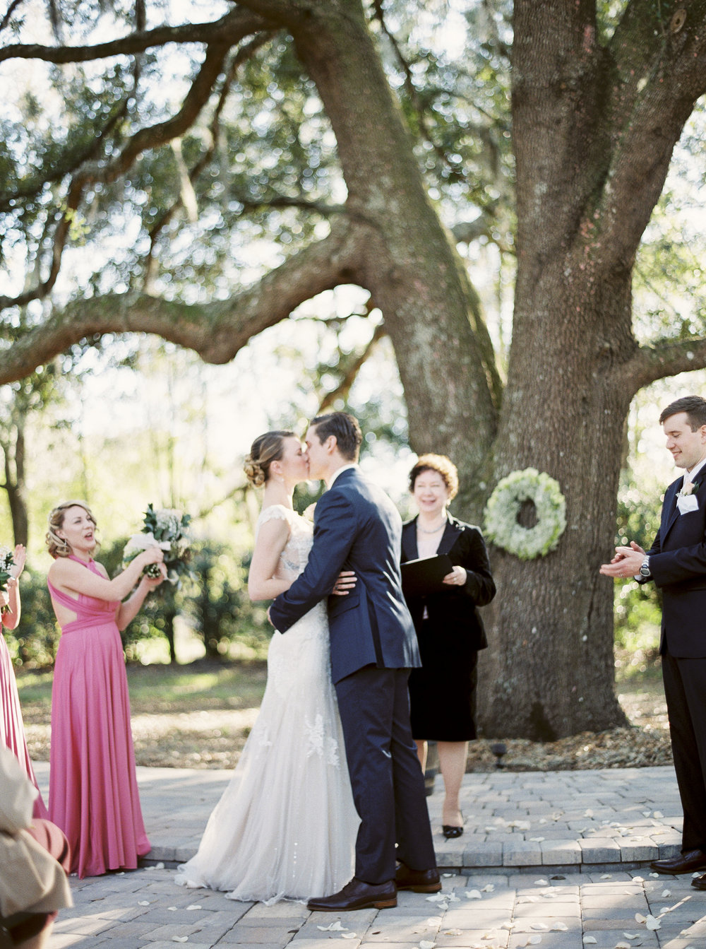 Best time of day to get married outside for amazing pictures. Amanda Lenhardt Photography, Dallas and Destination.